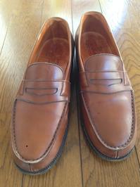 中古のJ.M.WESTONを磨いて綺麗にしてみた! - 銀座三越5F シューケア&リペア工房<紳士靴・婦人靴・バッグ・鞄の修理&ケア>