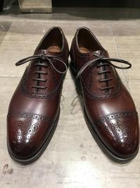 【Edward Green】つま先をアンティーク風に - 銀座三越5F シューケア&リペア工房<紳士靴・婦人靴・バッグ・鞄の修理&ケア>