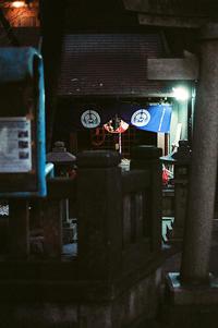 夜のお参り - 節操のない写真館