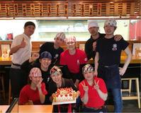 三篠本店、本日17周年を迎えました♪♪ - 博多ラーメン我馬
