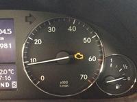 メルセデスベンツ W203 エンジン警告灯 整備 - 掛川・中央自動車