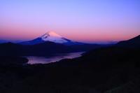 29年3月の富士(9)紅富士 - 富士への散歩道 ~撮影記~