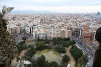 サグラダ・ファミリア。朝一番のエレベーターで地上50mに昇りました(スペイン、バルセロナ) - 旅プラスの日記