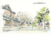 祇園白川新橋付近 - 風と雲