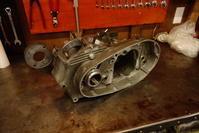 1964XLCH900 クランク軸受けベアリングラッピング冶具 - Vintage motorcycle study