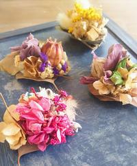 ちいさい花たち、春色マグネット - マゴの庭