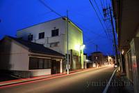 旧商工会館夜景 - みちはた写真館フォトギャラリー