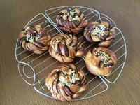 カフェ・ショコラとハムマヨコーンのレッスン - カフェ気分なパン教室  ローズのマリ
