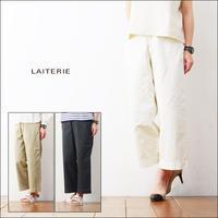 LAITERIE [レイトリー] 40/2 ウェポン ワイドパンツ [LB17122] LADY'S - refalt   ...   kamp temps