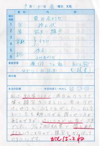 9月8日 - なおちゃんの今日はどんな日?