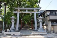 太平記を歩く。 その31 「六甲八幡神社」 神戸市灘区 - 坂の上のサインボード
