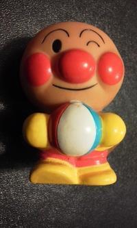 【157】アンパンマン(ビーチボール)・17 - アンパンマン★指人形★コレクション