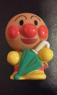 【159】アンパンマン(傘)・19 - アンパンマン★指人形★コレクション