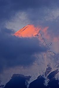 今朝の紅富士 - My photo room