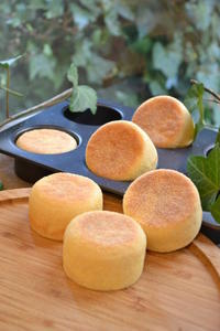 ミニイングリッシュマフィン - 調布の小さな手作りお菓子・パン教室 アトリエタルトタタン