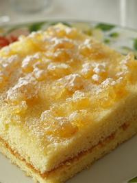 レモン風味のミモザケーキ - シニョーラKAYOのイタリアンな生活