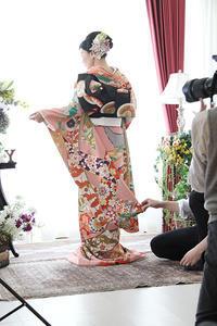 華麗☆婚礼フォトのメイキングシーンをご紹介 - それいゆのおしゃれ着物レンタル