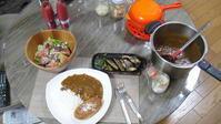 極上のメンチカツ&カレー♪ - 野菜ソムリエ 長谷部直美の「ぴくるす」&「干し野菜」生活