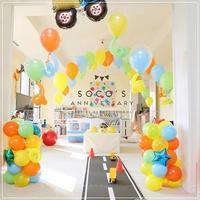 Construction Party!のアイシングクッキー@SOCO'S Anniversary - From sugar box studio