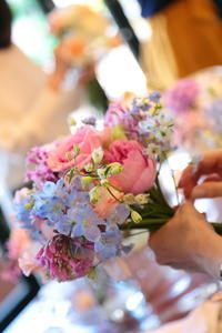 4月9日 ザ・ハウス白金ブライダルフェア特典 ミニブーケレッスンプレゼント企画 - 一会 ウエディングの花