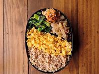 3/11(土)鶏そぼろ丼弁当 - おひとりさまの食卓plus
