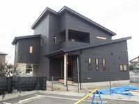 ガレージと中二階のある家⑤(左官工事、クロス工事) - ㈱栃毛木材工業