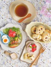 スコーンの朝ごはん - 陶器通販・益子焼 雑貨手作り陶器のサイトショップ 木のねのブログ