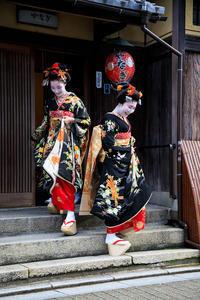 多麻・多都葉さん、ゆり葉さん お見世出し(祇園甲部) - 花景色-K.W.C. PhotoBlog