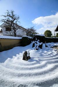 大徳寺・瑞峯院の雪景色 - 花景色-K.W.C. PhotoBlog