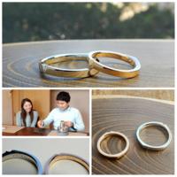 桜の花びらの結婚指輪 セミオーダー - 工房Noritake