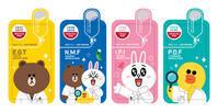 新商品「LINE FREINDSのマスクパック」登場 - アンニョン! ハーモニーマート 明洞 ブログ★