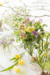 春はすぐそこ♪ - 幸せのテーブル*flowertuft-flowers&tablesXphoto