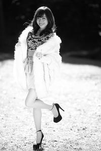 江尻侑華ちゃん15 - モノクロポートレート写真館
