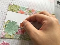 不器用さんが簡単にできる手作りカード。Lesson 6 - 今日も笑って、明日も笑おう。