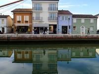 運河の風景 (Cesenatico) - エミリアからの便り