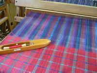 袋織り、カラフル昼夜織り - テキスタイルスタジオ淑blog