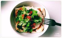 enchiladas rojas - Mexico, cielo despejado