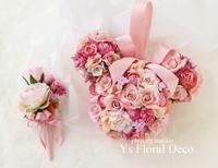ねずみさんのキャラクターのブーケ アーティフィシャルフラワー - Ys Floral Deco Blog