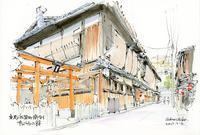 祇園町南側松竹小路 - 風と雲