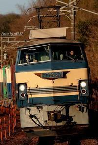 27号機、西陽を受けて。 - 山陽路を往く列車たち