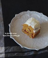 キャロットケーキ - * la dentelle ecrue *