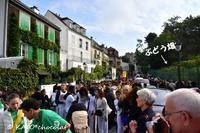 2016パリ旅行記9-1 :「モンマルトルのブドウ収穫祭のパレード!!(10/8-その1)」 - わたしの足跡