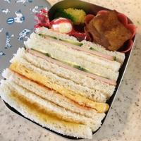 サンドイッチ弁当 - 適量適当