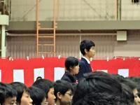 兄ちゃんの卒業式 - ハンちゃん Goes On!!
