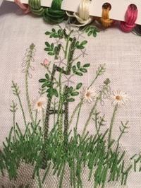 お花の刺しゅう / 編み棒ケース - y-hygge