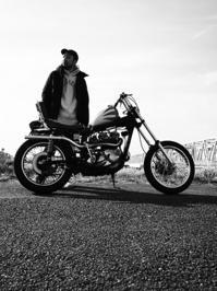 慎也 & Triumph T140E(2017.02.26) - 君はバイクに乗るだろう