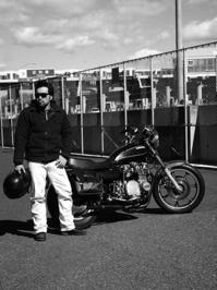 渡辺 尊 & kawasaki Z1000LTD(2017.02.12) - 君はバイクに乗るだろう