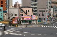 平塚(看板の残る廃屋)スナックの入口 - 古今東西風俗散歩(町並みから風俗まで)