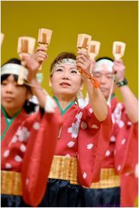 第4回震災復興チャリティよさこい (1) 白獅子・鄕・清門 - ぶらぶらデジカメ写真 by はる