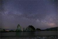 浄土ヶ浜の銀河 - 遥かなる月光の旅